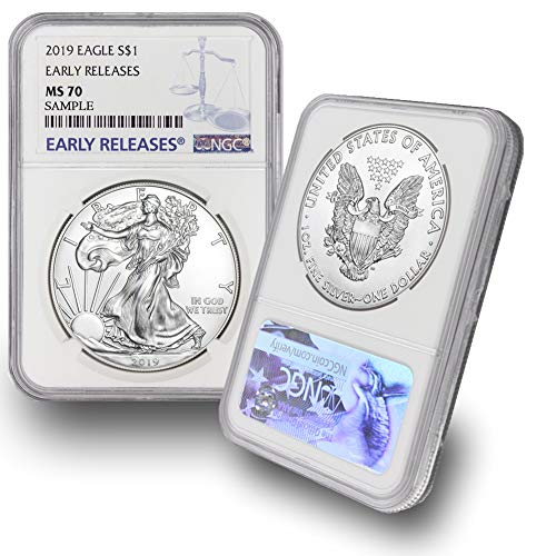 2019 American Silver Eagle $1 MS70 NGC Early Releases