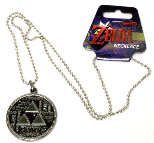 Princess Zelda Jewelry: Nintendo Legend Of Zelda Twilight Princess Necklace 96-420