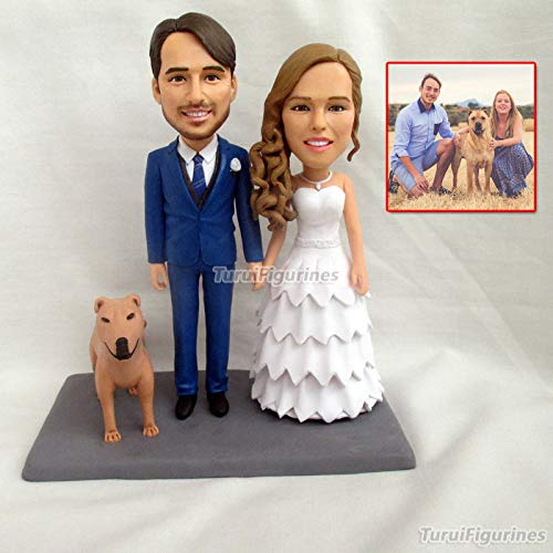 Amazon Turui Figurines Topper Birthday Cake Top Wedding