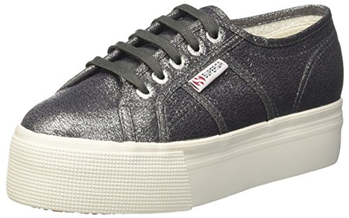 authentic sale online Superga Women's 2790-Lamew Trainers Silver (Gunmetal 909) footlocker finishline for sale 100% original for sale gIo3ZaM8KV