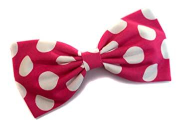 Minnie Mouse Pink Polka Dot Bow