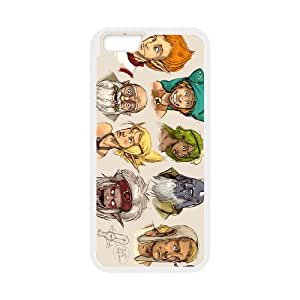 IPhone 6 4.7 Inch Cell Phone Case Protective cover for Wakfu - The animated series pattern design GQWFAS4900