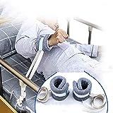 1 Pair Cotton Adjustable Hand Leg Feet Safety Strap Restraint Belt Care Limb Restraint Band for Elderly