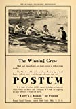 1910 Ad Postum Cereal Battle Creek Michigan