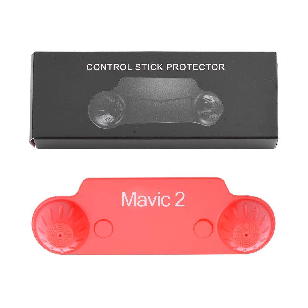 certainPL リモコン 親指スティックガード コントロールスティックプロテクター DJI MAVIC 2 Pro/Zoom  レッド B07JFZ4SF6