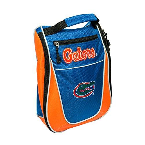 Team Golf NCAA Florida Gators Travel Golf Shoe Bag, Reduce Smells, Extra Pocket for Storage, Carry Handle