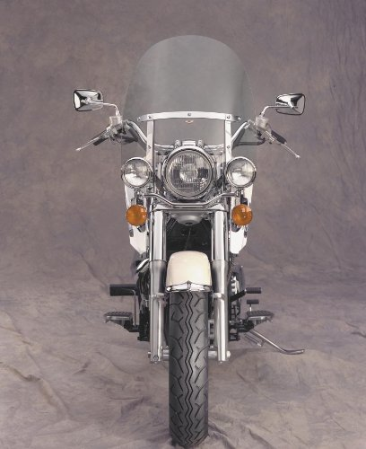 4.5 Dakota Mm Windshield (National Cycle N2301 Dakota 4.5 Windshield for Narrow Frame Honda Cruisers - One Size)