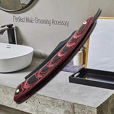 Straight Edge Razor Afeitadora plegable Afeitadora de afeitar ...