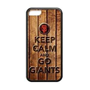 Forever Collectibles San Francisco Giants Custom Cases for iPhone 5C.Keep calm and go giants