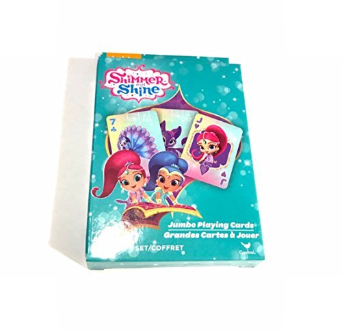 Shimmer and Shine Jumbo Playing Cards - Jumbo Jewel