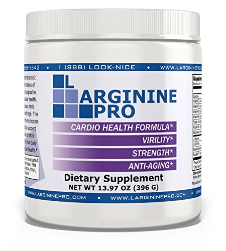 L-arginine Pro, #1 NOW L-arginine Supplement – 5,500mg of L-arginine PLUS 1,100mg L-Citrulline + Vitamins & Minerals for Cardio Health, Blood Pressure, Cholesterol, Energy, Sleep, 13.97 oz (1 Jar)
