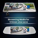 AUTO-VOX A1 Uber Stream Media Mirror Dash Cam,The
