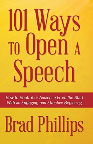 effective ways to start a speech