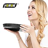 HOMOW Nonstick Heavy Duty Tart Pan With Removable