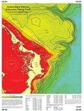 Abaco, Bahamas Offshore Bathymetric Fishing Chart