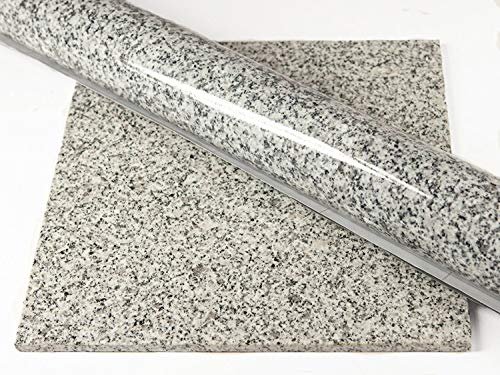 Instant Granite Luna Pearl Counter Top Film 36'' x 144'' Self Adhesive Vinyl Laminate Counter Top Contact Paper Faux Peel and Stick Self Application by Instant Granite (Image #4)