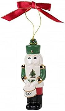 Spode 1667853 Bless This Home Ornament Green Portmeirion