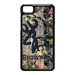 Tree Camouflage Camo Browning Case Cover for Black Berry Z10
