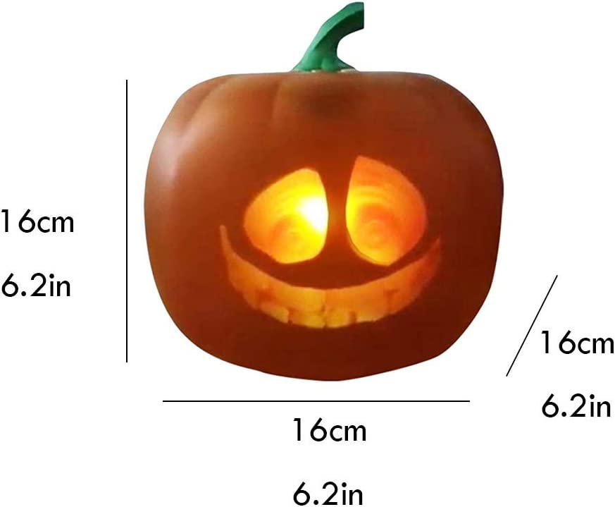 3in1 Halloween Flash,alloween Talking Animated Pumpkin with Built-in Projector /& Speaker,3-in-1 LED Pumpkin Lamp for Home Halloween Party Stickit Graphix Funny Talking Animated Pumpkin Lamp