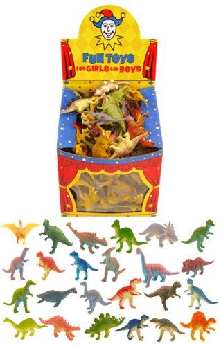 12 Mini Jouets dinosaure / faveurs de cadeau / enfants Enfants Parti Sac charges TOYLAND