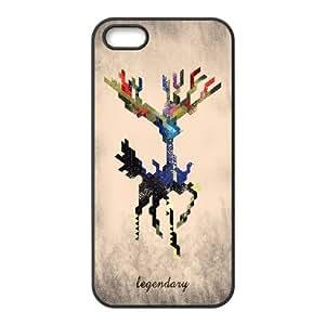 {Arts Series} IPhone 5,5S Cases i Am Legendary X Geometric, Case Doah - BlackBY autodiy