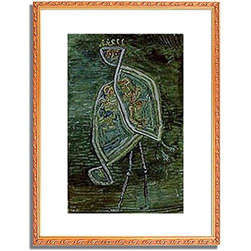 パウルクレー 「Phoenix coniugalis. 1932. 」 インテリア アート 絵画 壁掛け アートポスター フレーム:装飾(金) サイズ:XL (563mm X 745mm) B00PB8PBRI 4.XL (563mm X 745mm)|4.フレーム:装飾(金) 4.フレーム:装飾(金) 4.XL (563mm X 745mm)