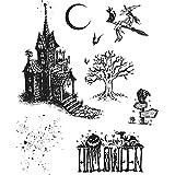 Tim Holtz Haunted House Stamp Set