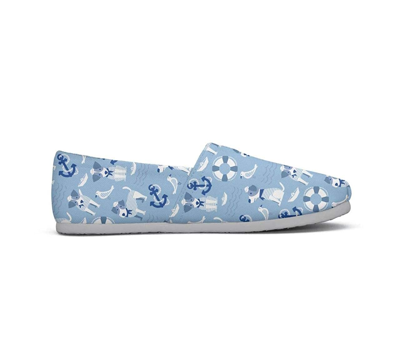 Pug puppies and pink pug paw Classics Womens Comfort Flat Slip on Shoes Ladies Espadrille Flats