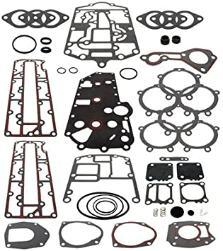 New Mercury Mercruiser Quicksilver Oem Part # 27-41499A88 Gasket Set