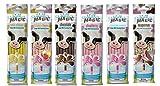 Milk Magic Magic Milk Flavoring Straws 36 Straws Flavors: Vanilla Milkshake, Strawberry Banana, Chocolate, Strawberry Chocolate Peanut Butter Cotton Candy