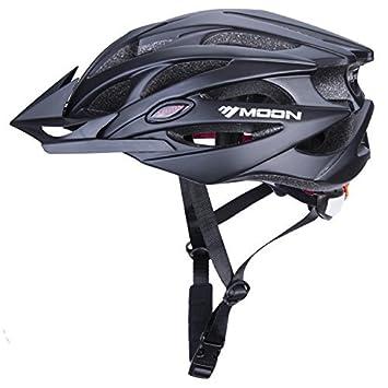 Babimax Casque Cycliste Montagne Casque VTT VTC avec Visiere de Protection  Tête Casque Vélo Léger Casque c433f1da6426