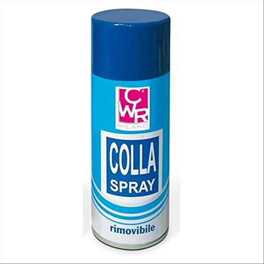 25 opinioni per CWR T113 Colla Spray, 400 ml, Removibile