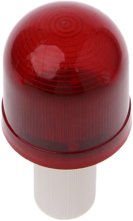 Gwxevce LED-Warnblitzleuchte Superhelle Lampe Blinklicht Sicherheitskegel Topper LED-Warnblitzleuchte Rot