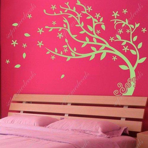 Amazon Custom Popdecals Bedroom Decor Must Have Elegant Rhamazon: Wall Art For Bedroom Tree At Home Improvement Advice
