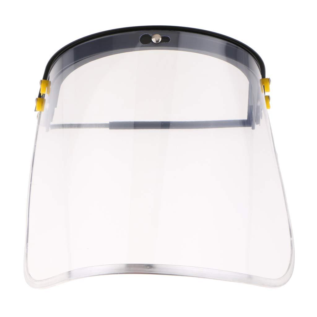 1.5mm Protector Facial Bi/ónico con Visor de Policarbonato Transparente Y Revestimiento Antivaho//Duro