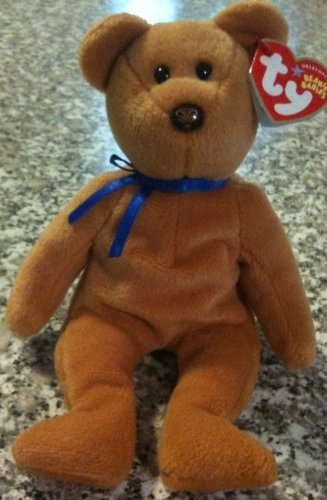 ty-beanie-baby-promise-the-brown-bear-northwestern-mutual-exclusive