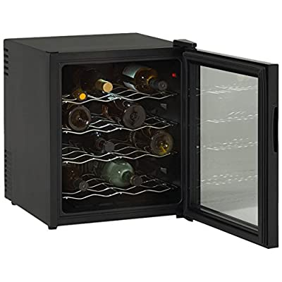 EWC1601B 16 Bottle Thermoelectric Wine Cooler