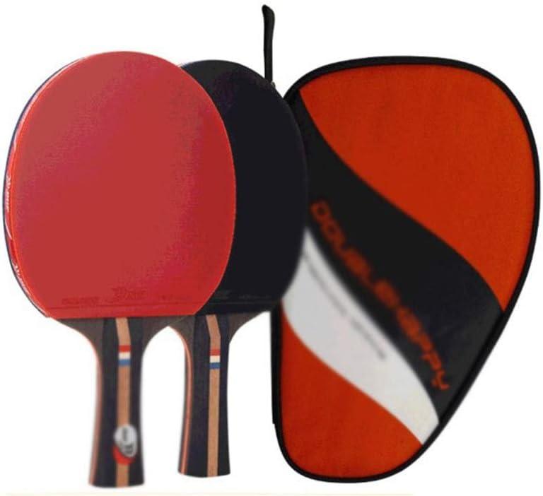 LFLLFLLFL Mesa De Ping Pong Raquetas, Raqueta For Principiantes Entrenamiento Diario La Familia De Los Deportes del Ocio