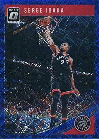 ec6ee80f628b9 Amazon.com: 2018-19 Donruss Optic Blue Velocity Basketball #33 Serge ...
