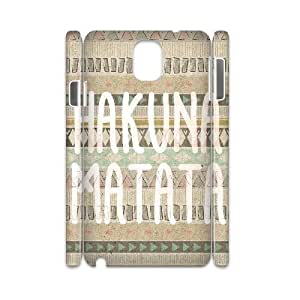 Hakuna Matata 3D-Printed ZLB542989 Customized 3D Cover Case for Samsung galaxy note 3 N9000
