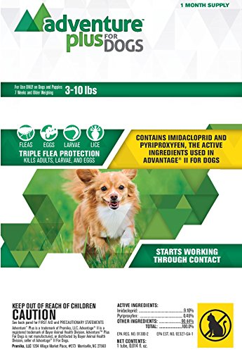 Adventure Plus (1-dose) SMALL DOG (3-10 lbs)