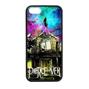 Artsalong Pierce the Veil Nebula Nice Design Collection Best Durable Soft Rubber Case Cover fits for Apple iPhone 5,5S (Laser Technology) Kimberly Kurzendoerfer