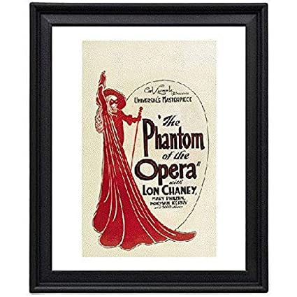 Amazon.com: The Phantom of the Opera 4 - Picture Frame 8x10 inches ...