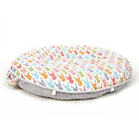 Pello Multi-use Luxe Baby-Toddler Floor Pillow/Play Mat/Lounger, Forest/Gray
