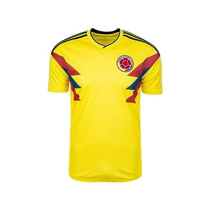 11c2b6c69f463 Amazon.com : AdriK New Colombia Home Men's Soccer Jersey : Sports ...