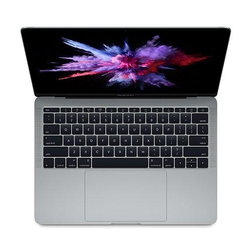 "Price comparison product image MacBook Pro 13"" MPXQ2LL/A: 2.3GHz dual-core Intel Core i5, 128GB - Space Gray (Mid 2017)"