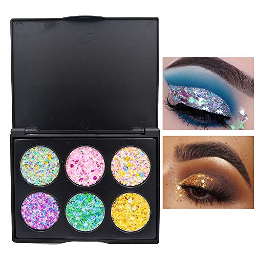 UOKNICE Eye Shadow for Women, Beauty Natural Colorful Shimmer Glitter Powder Palette Matte Cosmetic Makeup Eyeshadow Set case Lip Gloss Blush Beauty it Cosmetics Bag Vanity Mirror Brush