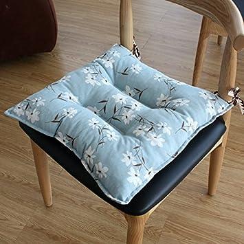 EFRC Sommer-Büro-Rechner in plain einfache Baumwolle Stuhl Kissen ...