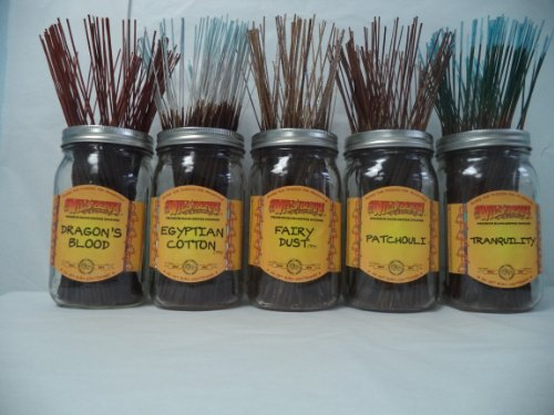 Wild Berry Incense Dragons - Wildberry Incense Sticks Best Seller Set #2: 10 Sticks Each of 5 Scents, Total 50 Sticks!