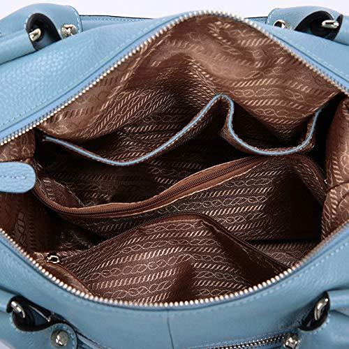 De Wygmadlifeqq Grande Femme Capacité À Pampille Décontractée Main Bandoulière Shopping 1 La Pour style Mode Sac vv7qrnT